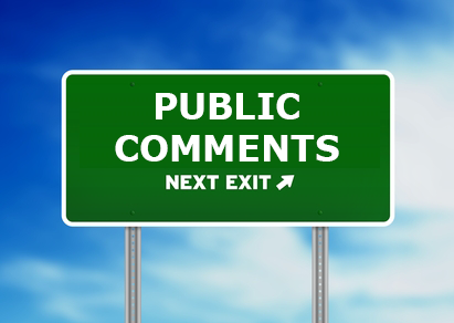 Public Comment Period and Public Hearings