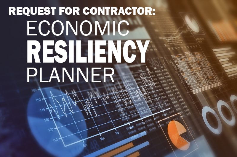 Request for Contractor Economic Resiliency Planner